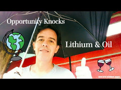 OPPORTUNITY KNOCKS - Lithium & Oil - 2018 Feb Dow Jones Crash or Buyer's Market ?