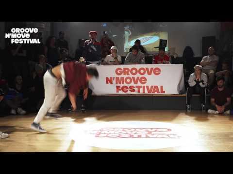1/4 Final - Dimi  & Willy (tekken) vs Wara et rocka ( flow due)- GNM Bboying battle 2017