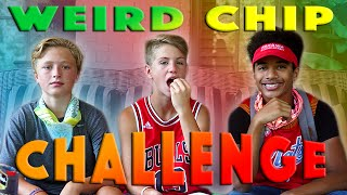 weird chip challenge mattybraps justin banks
