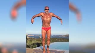 50-летний миллионер Джанлука Вакки очень круто танцует под клубняк