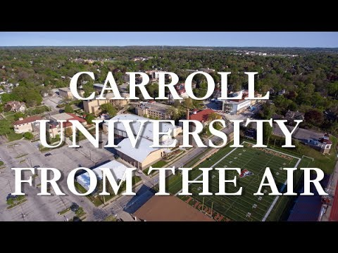 Carroll University from the Air | May 14, 2017