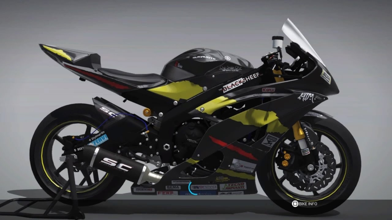 ride 2 ps4 yamaha yzf r6 magny cours gp youtube. Black Bedroom Furniture Sets. Home Design Ideas