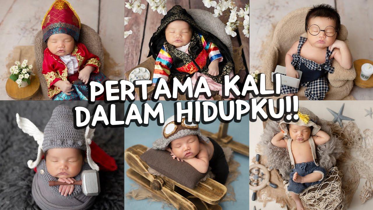 Photoshoot Bayi Korea-Indonesia Pertama Kali !!🇰🇷🇮🇩