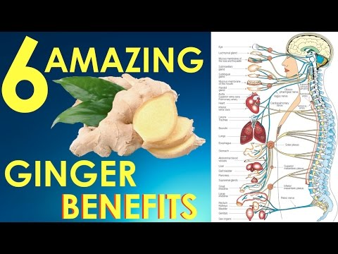 Ginger benefits for health -  Top 6 **AMAZING** health benefits of ginger