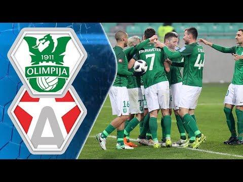 21. krog: Olimpija - Aluminij 5:1 ; Prva liga Telekom Slovenije