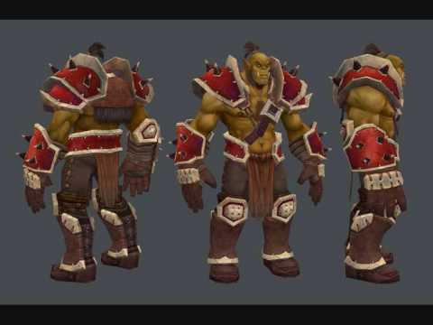 Orc Wow New Model WoW Cataclysm: New orc...