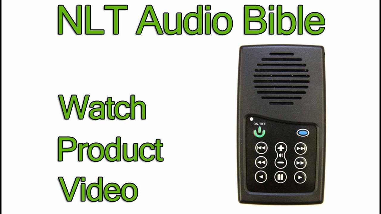 Audio Bible NLT Old and New Testament EASIEST Bible player