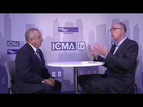 ICMA Interviews: David Johnstone of Candiac, Quebec at ICMA Annual Conference in San Antonio, TX