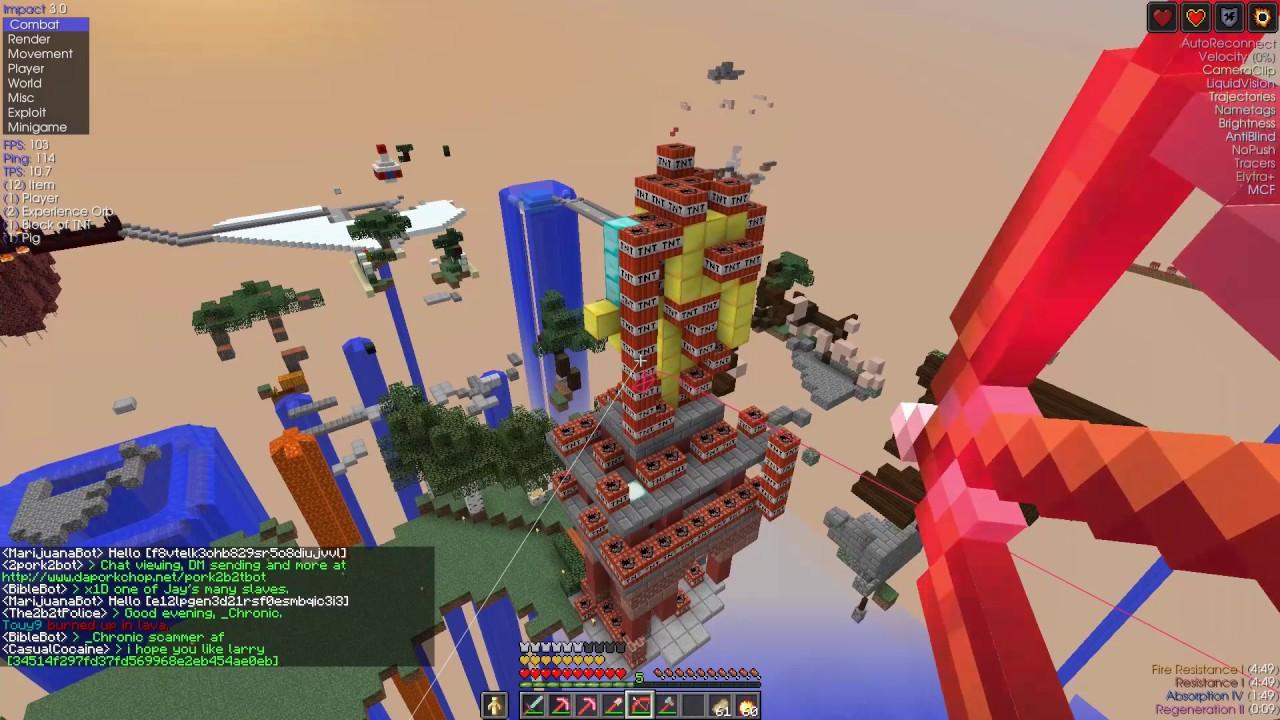 2b2t: Destruction of Rocket Town
