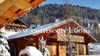 Chatel, location d'un chalet de vacances avec sauna en station de ski. Pour 15 personnes