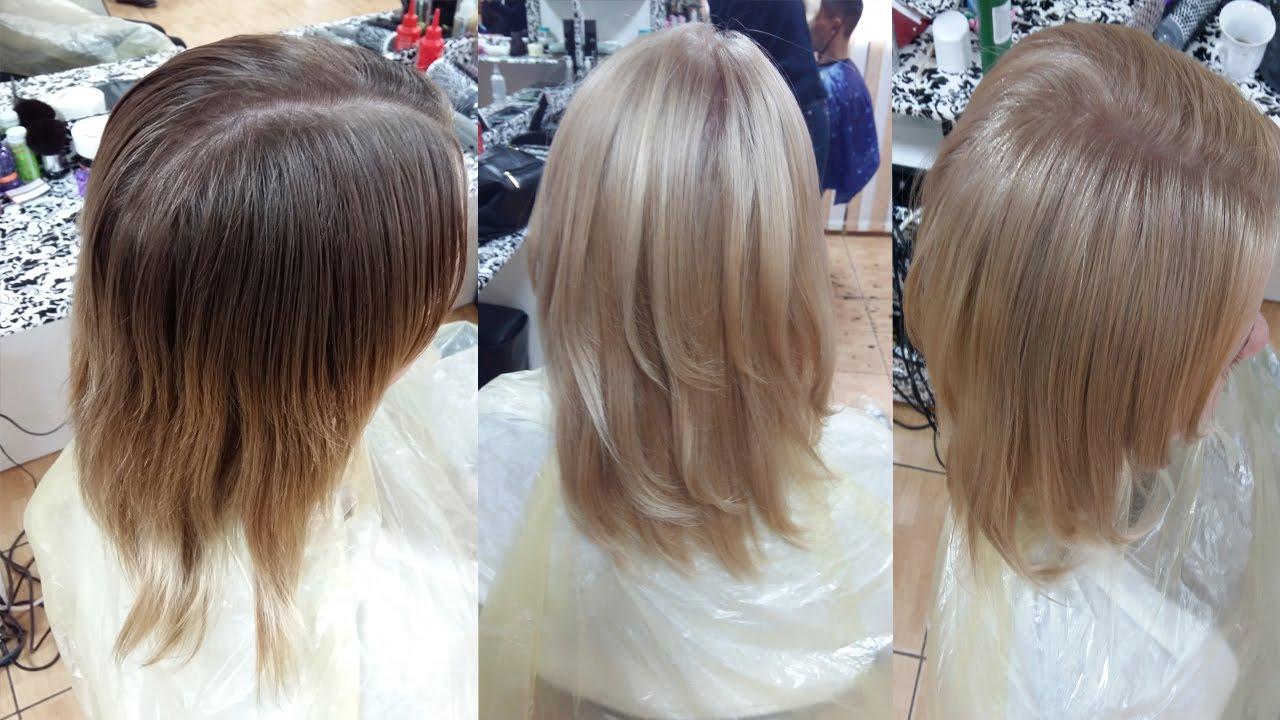 Крем-краска для волос «Kapous Professional» - «Продолжение 2 в борьбе с мелированием