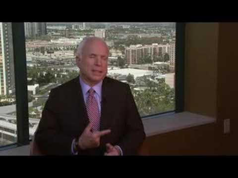 Mark Sayre Interviews John McCain