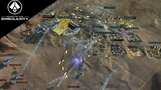 Ashes of the Singularity Gameplay - 2v2 Multiplayer Gameplay