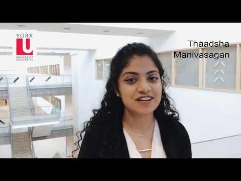 #WorldHealthDay: York U Global Health student Thaadsha Manivasagan