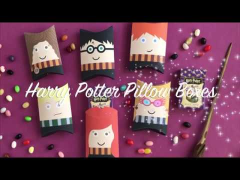 diy harry potter pillow boxes by bugaboocityblog