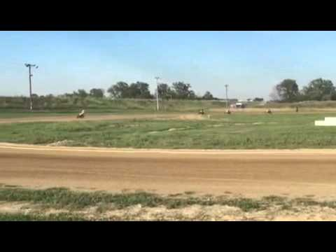 Mid America speedway 250 mod heat race 2015