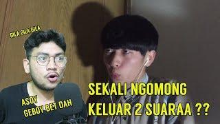 BEUHH , SHOW GO GILAA BETDAH SEKALI NGOMONG 2 SUARA ! | SansReaction