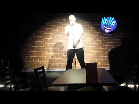 Callahan Welsh Performs at HaHa Comedy Club Open-mic on Tue.March20th, 2018 N.Hollywood, L.A., CA.