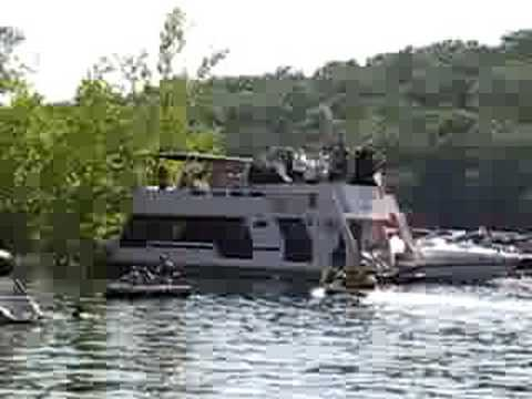 """Table Rock Lake - July 4th """"Party Cove"""" - Part 1 - YouTube"""
