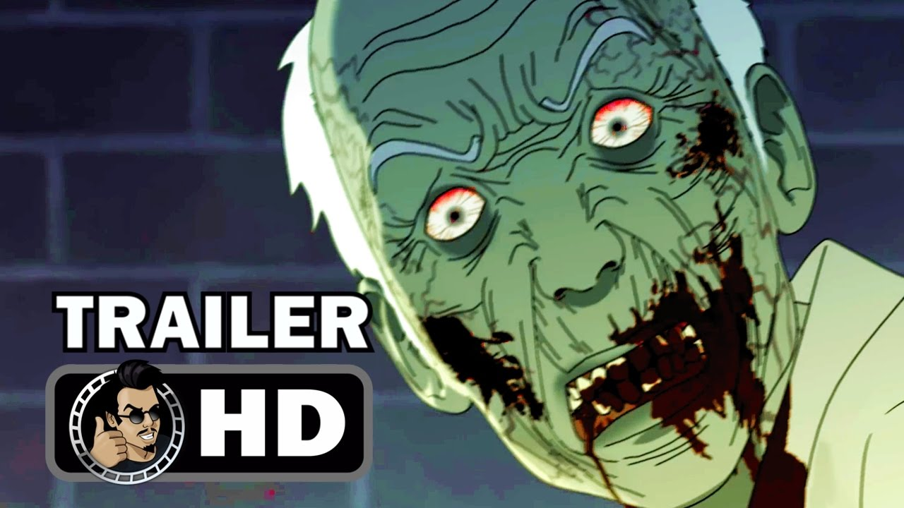 SEOUL STATION Official Trailer 2017 Zombie Horror Animation Movie HD