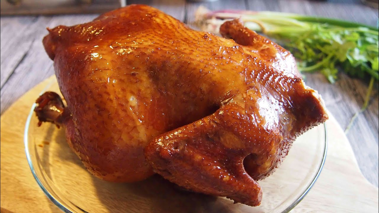 Secret To The Perfect Crispy Chinese Roast Chicken 五香烧鸡 Recipe Youtube
