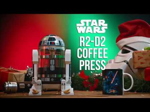 Star Wars - R2-D2 Coffee Press - Video