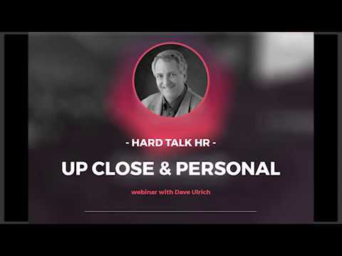 Ask Dave Ulrich - Interactive Q&A Session with the Father of Modern HR