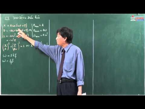Vật lý lớp 12 - Dao động cơ - các đại lượng đặc trưng của DĐĐH - Cadasa.vn