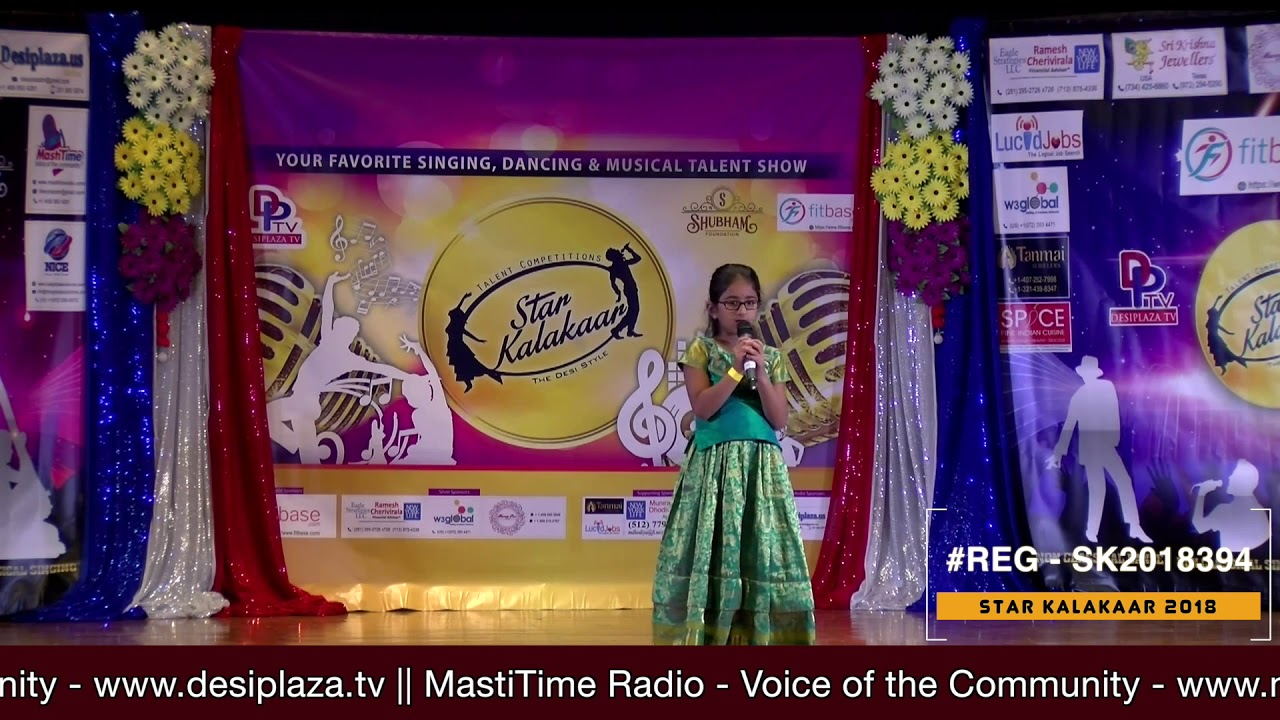 Registration NO - SK2018394 - Star Kalakaar 2018 Finals - Performance