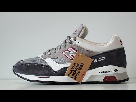 Обзор кроссовок New Balance 1500 Made in UK