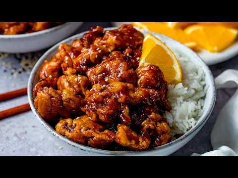 Orange Chicken Recipe Ready In 20 Minutes Nicky S Kitchen Sanctuary
