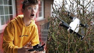 Meine nagelneue Drohne ist abgestürzt... 😩