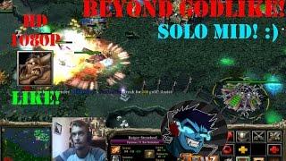 ★DoTa Earthshaker - GamePlay | Guide★ Beyond Godlike! Solo MId #2. 6000+PTS!★