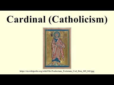 Cardinal (Catholicism)