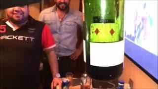 Raftaar Experiences Shankar Bakshi - Zero Gravity // Impossible Card In Bottle Magic