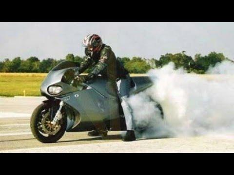 SUPER MOTOCICLETA CON MOTOR DE AVION