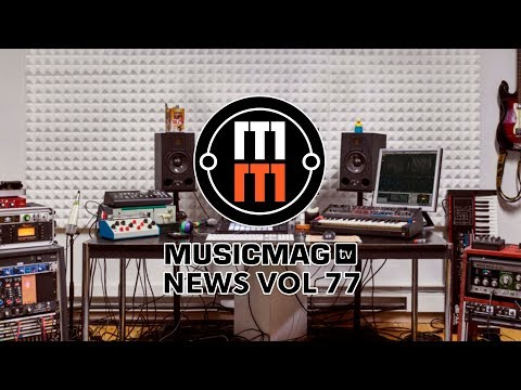 Musicmag TV News Выпуск 77:  Ableton Live 10, Wavetable, новый Garageband и др.