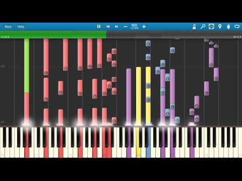 Tubular Bells - Mike Oldfield - Piano Tutorial / Cover - Entire Full Song (Synthesia)