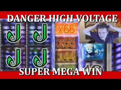 SUPER MEGA WIN - DANGER HIGH VOLTAGE - 5€ BET!!