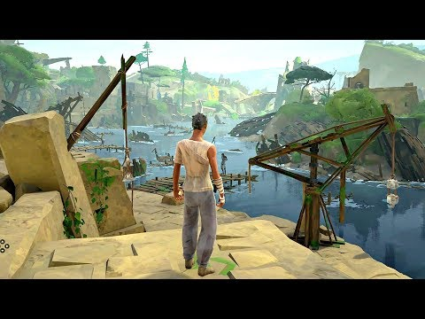 Absolver - First 21 Minutes Gameplay Walkthorugh Part 1 (Martial Arts Action RPG)