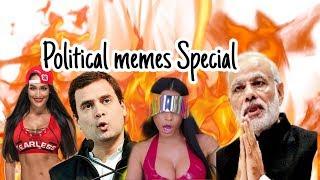 Dank Indian Memes 🔥  meme Compilation   Political memes   #Deletedclips   #Mahiproduction