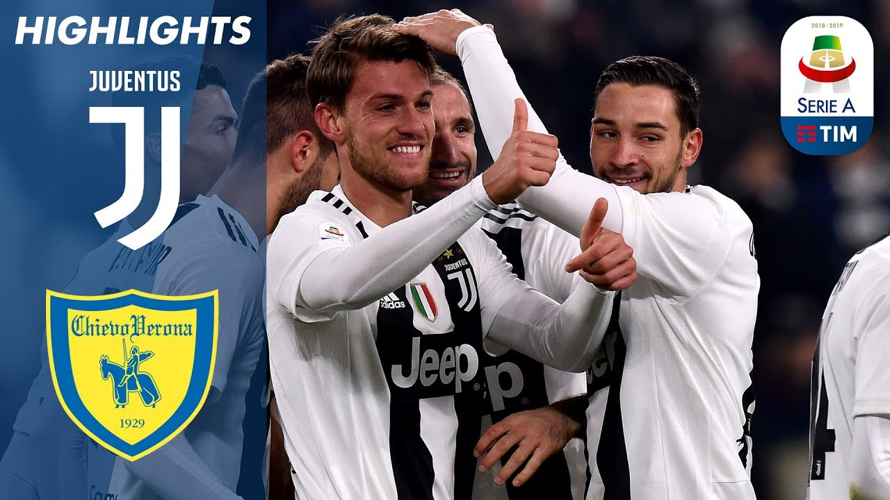 Juventus 3: 0 Chievo | Juventus gewinnt trotz Ronaldo Penalty Miss | Serie A + video