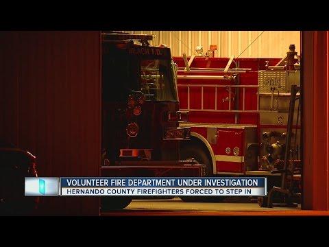 Volunteer fire department under investigation