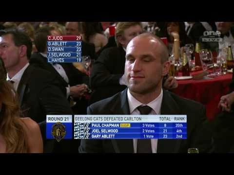 Chris Judd - 2010 Brownlow medallist 1/2