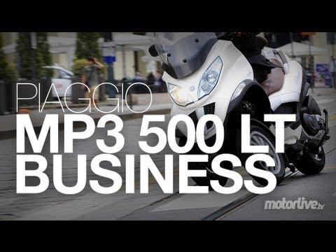 Essai Piaggio MP3 500 LT Business