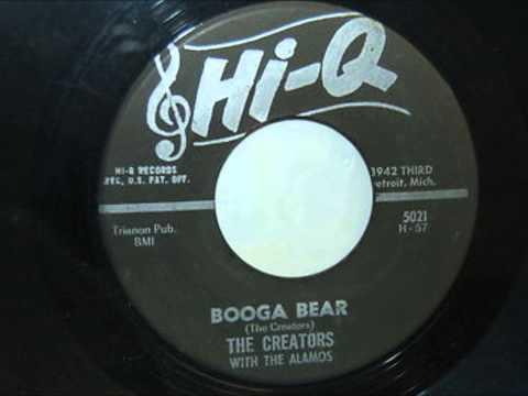CREATORS With THE ALAMOS - Wear My Ring / Booga Bear - HI-Q 5021 - 1961