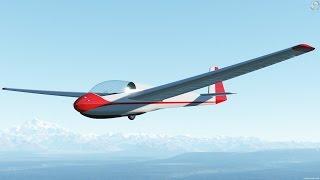 Outerra Anteworld - [release] Schleicher Ask-13 (glider)