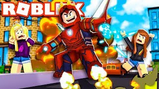 The MOST POWERFUL Super Hero in ROBLOX