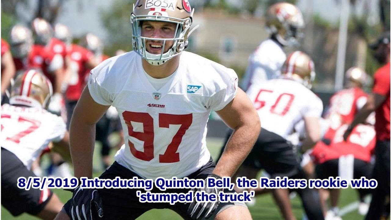 detailing 76255 3f2ec 8/5/2019 Introducing Quinton Bell, the Raiders rookie who ...