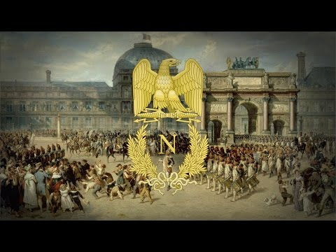 """First French Empire (1804-1814) Military March """"Honneur à l"""